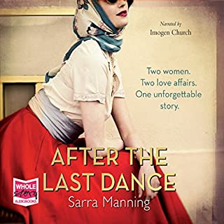 After the Last Dance                   By:                                                                                                                                 Sarra Manning                               Narrated by:                                                                                                                                 Imogen Church                      Length: 14 hrs and 41 mins     48 ratings     Overall 4.6