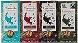 Consuelo Nespresso* compatible Capsules - Premium variety pack, 80 capsules (20x4)