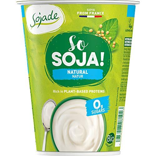 Sojade Bio Bio Soja Spezialität Natur ohne Zucker (6 x 400 gr)