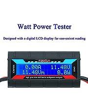 ARCELI 150 A Watt meter effektanalysator högprecision RC med digital LCD-skärm för spänning (V) ström (A) ström (W) laddning (Ah) och energi (Wh) mätning