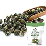 Best Loose Leaf Green Teas - Tealyra - Imperial Jasmine Dragon Pearls - Loose Review