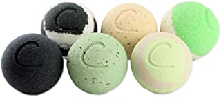 Cosset Bath Bombs - Bath Bomb Therapy Set for Muscle Aches, Dry Skin, and Detoxification - 8 Ounce - Pack of 6