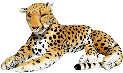 Wagner 2001 - Plüschtier Gepard - liegend - 90 cm