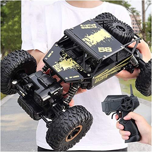 Moerc Control remoto Coche RC Rock Crawnler Buggy 2.4GHz Juguete de alta velocidad A prueba de agua 4x4 Roca Off-Road Monster Truck Carracero eléctrico para niños Juguetes para niños Pasatiempos de lo