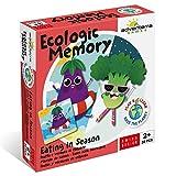 Adventerra Games Ecologic Memory - Frutas Y Verduras De Estación