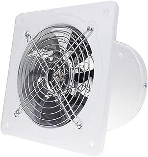 Moolo Exhaust Fan, Kitchen Bathroom Wall-Mounted ventilating Fan A1 (Color : White)