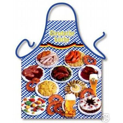 Tobeni 1728 Schort German Kitchen voor grill en keuken