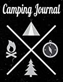Camping Journal: Perfect camping trip planner for camping trips & family vacations – 8.5x11 (Family Camping & Retirement Travel Series)