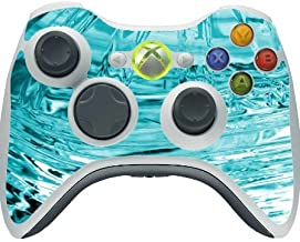 Ice Frozen Glass Freeze Vinyl Decal Sticker Skin by Moonlight Printing for Xbox 360 Wireless Controller
