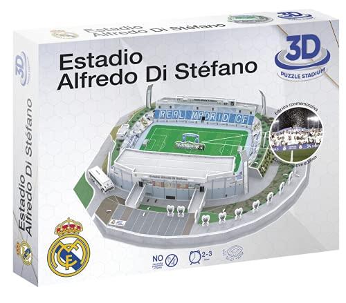Real Madrid-DI STÉFANO CF Puzzle, Multicolor (Eleven 100-120)