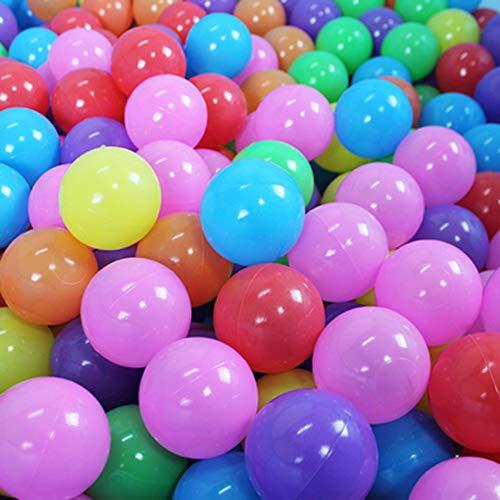 Bola De Piscina para Niños, Respetuoso del Medio Ambiente Tela De Poliéster Ball Pool, Interior Y Exterior Parque Infantil Tiendas De Campaña (con El Aro De Baloncesto), 100 Ocean Bolas,B