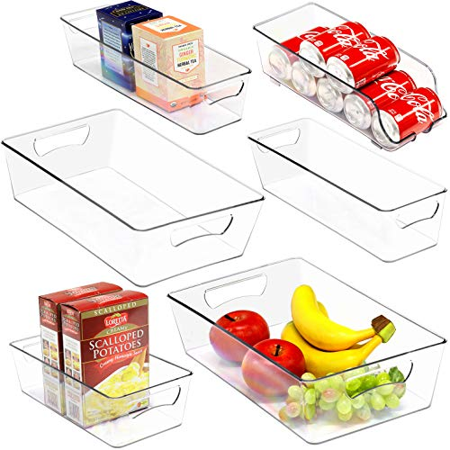 Simple Houseware 6 Pack Freezer Storage Organizer