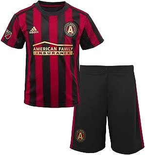 OuterStuff Toddler Atlanta United FC Soccer Kit Baby Jersey/Short Set (12 M)