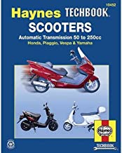 Scooters, Service and Repair Manual: Automatic Transmission 50 to 250cc; Honda, Piaggio, Vespa & Yamaha (Haynes Repair Manual (Paperback)) (Paperback) - Common