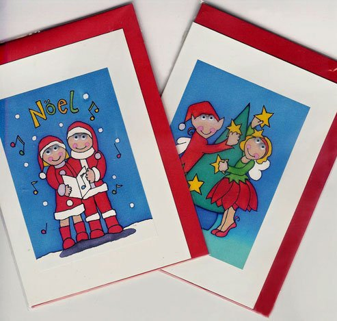CHRISTMAS CARDS WITH ANIMATED FEATURES-HANDMADE IN ENGLAND