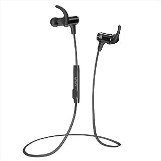 Bluetooth イヤホン VAVA MOOV 28 (aptX高音質 IPX6防水設計 8時間連続再生) 内蔵マグネット CVC6.0 ノイズキャンセニング マイク内蔵 VA-BH009