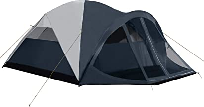 Pacific Pass Camping Tent 6 Person Family Dome Tent with...