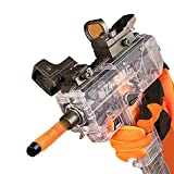Nagelbag Uzi-SMG Toy Submachine Gun Continuous Fire with Transparent Magazine Round Head Soft Bullet and Sucker Soft Bullet(Upgrade)