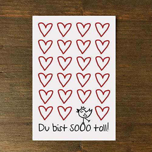 Karte, Grußkarte, Herz, Liebe, Freundschaft, BFF, Love