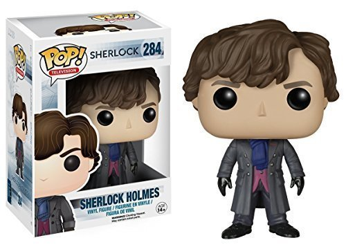 Funko POP TV 3 3/4 Inch Sherlock Sherlock Holmes Action Figure Dolls Toys by Funko POP Toys