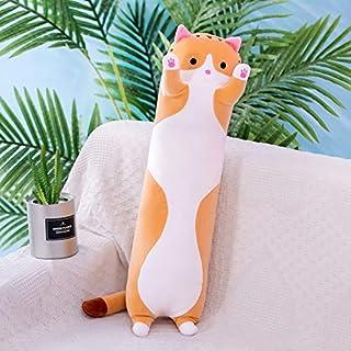 70-110 cm Creatieve leuke Kat Knuffels Leuke Creatieve Lange Zacht speelgoed Kantoor Lunchpauze Dutje Slapen Kussen Kussen...