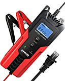 GOOLOO 6V/12V Smart Battery Charger and Maintainer 6-Amp Full Automatic 6-Stages Trickle Charging