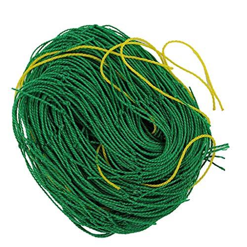 freneci Nylon Netting Vine And Veggie Trellis Net Plant Support Convenient Reusable - Green, 180x90cm