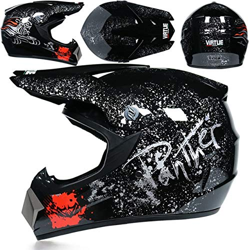 Motorbike Off Road Crash Helmet ABS Engineering Plastics Sturdy, Wear-Resistant and Comprehensive Head Protection Suitable for Adult Men and Women 342524cm 1 Item (Color : X, Size : L)