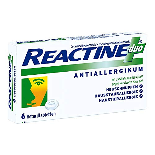 Reactine duo Retardtabletten, 6 St