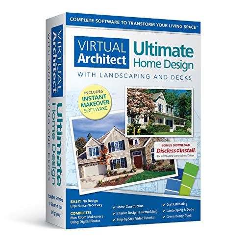 Virtual Architect Ultimate Home Design with Landscaping and Decks 9.0