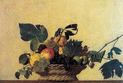 Impronte ipz088 - Caravaggio: Canestra di frutta - Puzzle 1500 pezzi