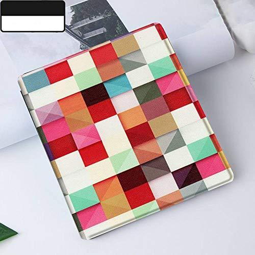 YOPM Kindle E-Reader Funda,Compatible con Todos Los Nuevos Kindle Oasis 2/3 (Versión 9/10 2017/2019) Auto Sleep/Wake Magnetic PU Leather Cover Magic Cube