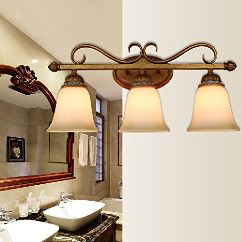 StiefelU LED Wandleuchte nach oben und unten Wandleuchten Antik Nachttischlampe im Wohnzimmer für Elemente zur Diskussion. Glasfront licht Eisen Wandlampen, Antik Gold