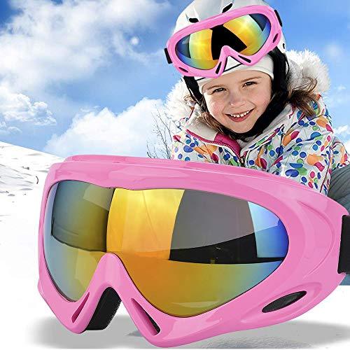 TBoonor Skibrille für Kinder Snowboardbrille für Wintersportarten ski Goggles UV400-Schutz &...