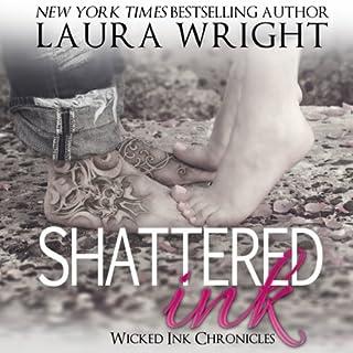Shattered Ink audiobook cover art
