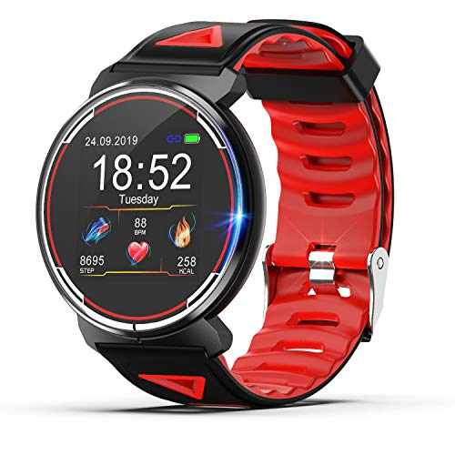 Smart Watch for Android iOS Phones 2019 Version, TZAMCW Fitness Tracker Watch Activity with Heart Rate Monitor Sleep Tracker, Activity Smartwatch Compatible with iPhone Samsung for Men Women Kids Gift