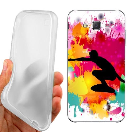 Custodia Cover Case Surf Maschile per Samsung Galaxy J5
