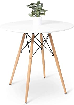 Dining Table-Small Round Dining Table-Can Accommodate 2 to 4 People