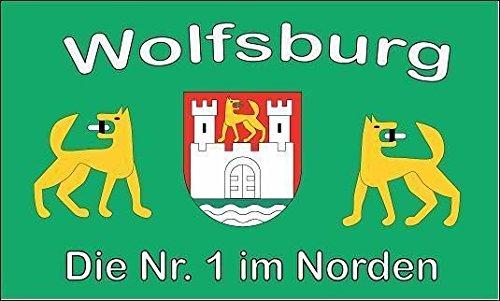 U24 Fahne Flagge Wolfsburg Nr. 1 Größe 90 x 150 cm