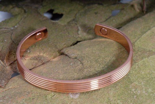 Magnetschmuck - Kupfer Armreif Straight