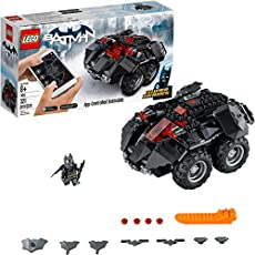 LEGO DC Super Heroes App-controlled Batmobile 76112 Remote Control (rc) Batman Car, Best-Seller Building Kit and Toy for Boys (321 Pieces) (Discontinued by Manufacturer)