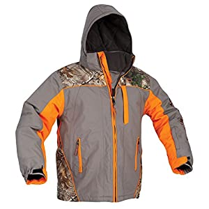 ArcticShield Men's Glacier Eclipse Cold Weather Jacket, Orange