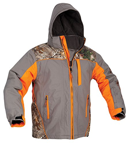ArcticShield Men's Glacier Eclipse Cold Weather Jacket, Orange