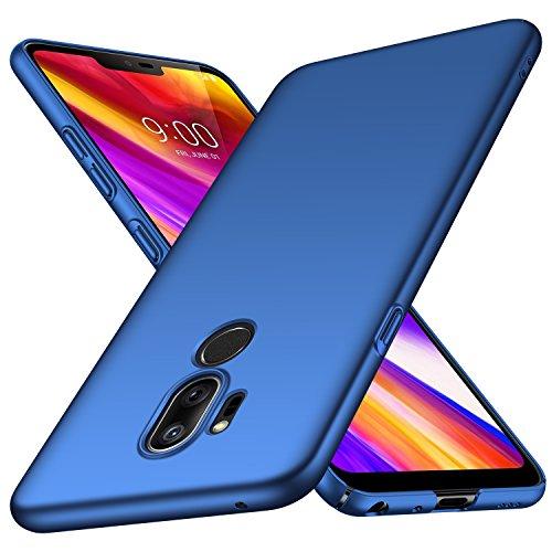 Almiao LG G7 ThinQ Hülle, [Ultra-Thin] Minimalistische Slim Schutzhülle für LG G7 ThinQ (Glattes Blau)