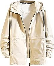 Men's Jacket Coat Fashion Casual Simple Comfortable Cap Jacket Hoodie