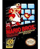 ELITEPRINT Póster de Super Mario Bros Nes Cart A3 sobre material de impresión NINTENDO ARCADE JUEGOS de 250 g/m²