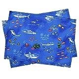 ランチョンマット 男の子 子供用 おしゃれ 布 給食 ランチョンマット スタンダード ブルーラグーン N3695700