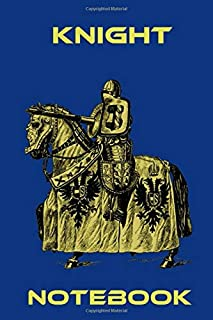 Knight Notebook - Classic - Blue - Yellow - College Ruled