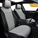 Big Ant Car Seat Cushion, Sleek Design Full Size 2 PCS Breathable Universal Four Seasons Interior Front or Back Seat...