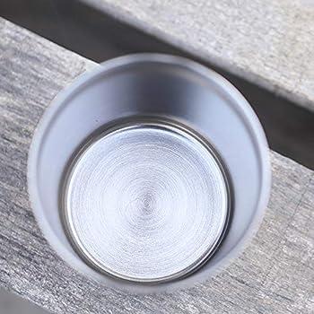 Lixada 200 ML Double Paroi Titane Bière Tasse Tasse d'eau Tasse à Thé pour la Maison Camping en Plein Air Randonnée Randonnée Voyage